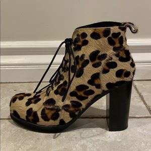 🆕 Intentionally Calf Hair Cheetah Booties